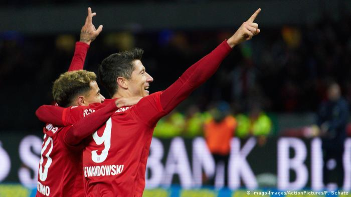 Bayern Munich were celebrating again, but for the first time in Berlin in the league since 2016