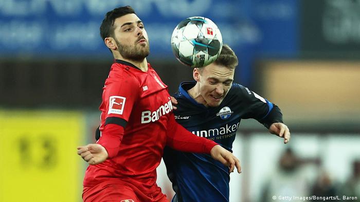 Bayer 04 Leverkusen's Kevin Volland