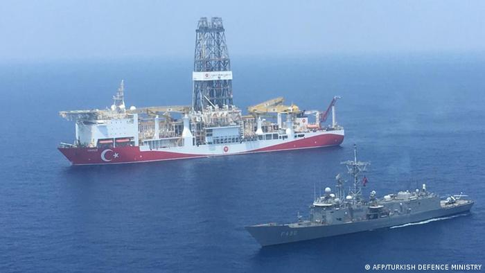 Turkish drilling ship off Cyprus