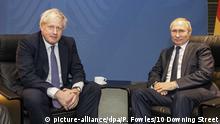 Deutschland Libyen-Konferenz in Berlin | Johnson Und Putin