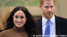 UK Harry und Meghan (picture-alliance/dpa/A. Chown)