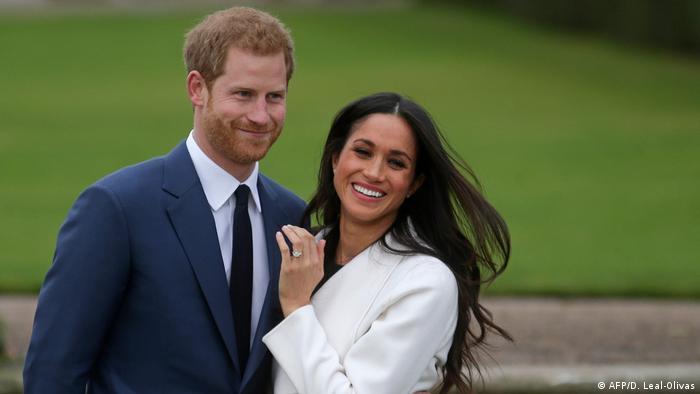 الأمير هاري رفقة زوجته ميغان