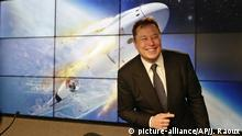 USA, Florida, Cape Canaveral: Elon Musk, Konzernchef des US-Elektroautohersteller Tesla