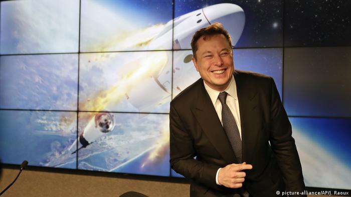 Elon Musks aktuelles Projekt: Die Raketenmission SpaceX