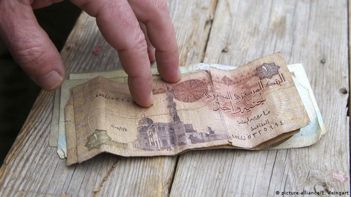 Symbolbild - Ägyptisches Pfund - Währung