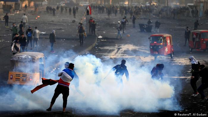 Protestas en Bagdad. (20.01.2020).