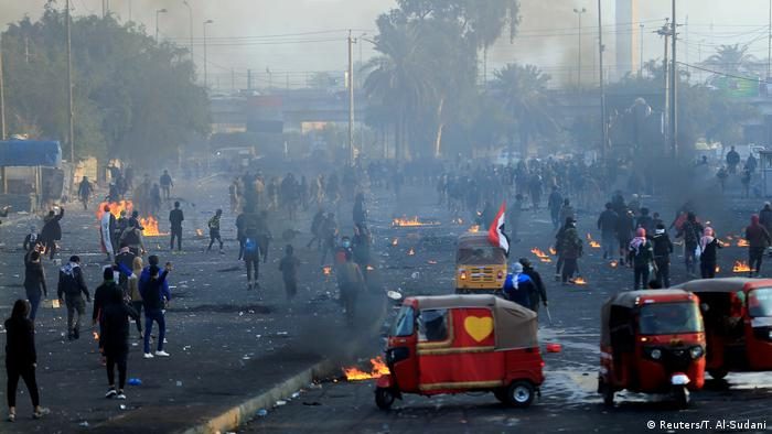 Iraq protests in Bagdad
