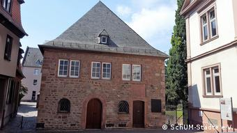 The synagogue in Worms