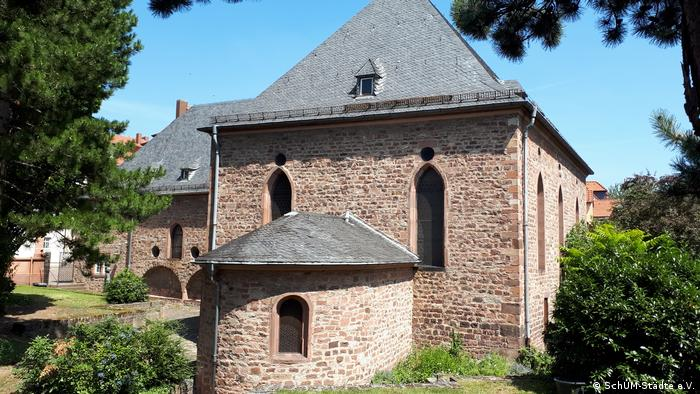 The synagogue in Worms (SchUM-Städte e.V.)
