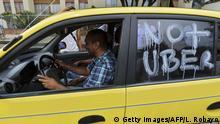 Kolumbien Proteste gegen Uber-Personenbeförderung