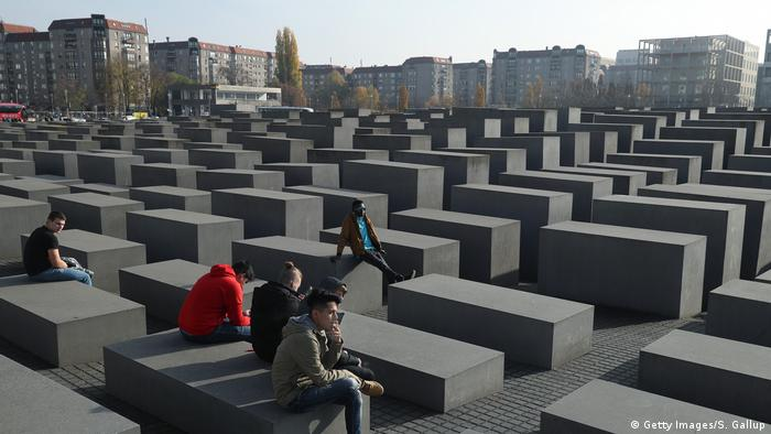 Pomnik Pomordowanych Żydów Europy w Berlinie (Getty Images/S. Gallup)
