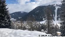 Weltwirtschaftsforum 2020 in Davos | Ausblick über Davos