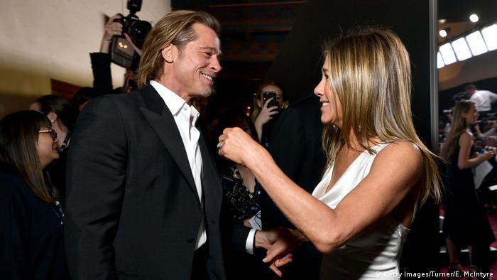 Guild Awards 2020 Erste Begegnung von Jennifer Aniston und Brad Pitt (Getty Images/Turner/E. McIntyre)