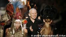 Modemacher Jean-Paul Gaultier zieht sich von Laufsteg zurück