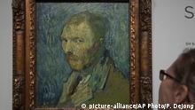 Selbstbildnis Vincent van Gogh in psychiatrischer Klinik in Saint-Rémy