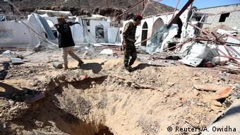 В зоне боевых действий в Йемене (фото из архива)