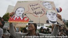 Südkorea Klimaproteste
