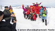 Schweiz Titlis | Touristen aus China