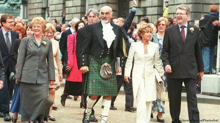 U Edinburgu, 1.07.1999.
