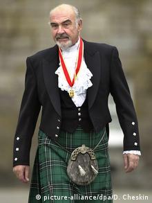 Sean Connery im Kilt