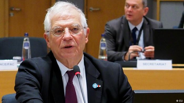 Высокий представитель ЕС по иностранным делам Жозеп Боррель