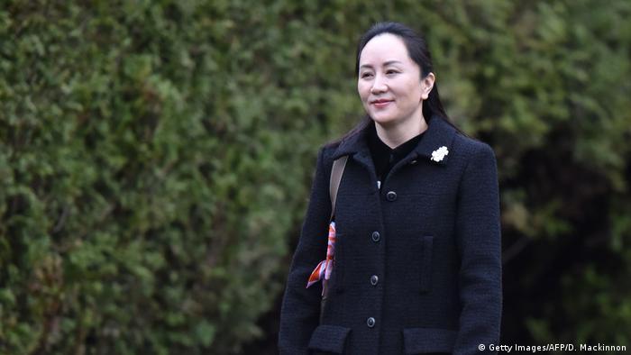Kanada Vancouver | Meng Wanzhou Finanzdirektorin von Huawei auf dem weg zum Gericht