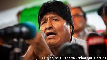 Argentinien Buenos Aires | ehemaliger Präsident von Bolivien Evo Morales gibt Kandidatur bekannt