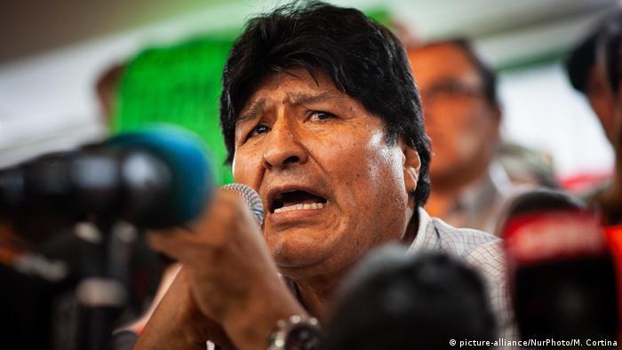 Evo Morales, expresidente de Bolivia y jefe de campaña del MAS.