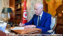 Tunesien Präsident Kais Saied