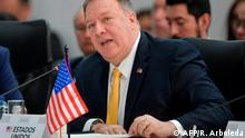 Kolumbien Anti-Terror-Konferenz in Bogota | Mike Pompeo
