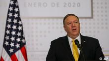 Kolumbien Anti-Terror-Konferenz in Bogota | Mike Pompeo (AP)