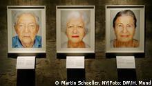 Deutschland Ausstellung Survivors von Martin Schoeller in der Zeche Zollverein in Essen