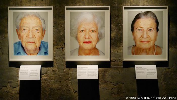 Survivors von Martin Schoeller in der Zeche Zollverein in Essen (Martin Schoeller, NY/Foto: DW/H. Mund)