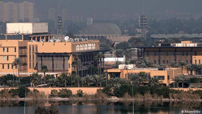 The US embassy in Baghdad's Green Zone