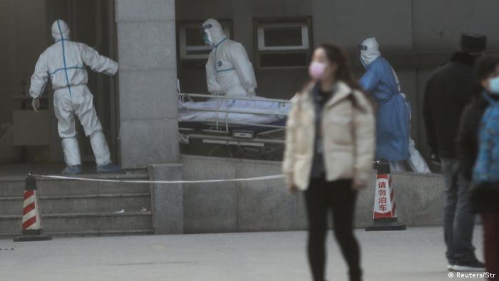 China Virus wird von Mensch zu Mensch übertragen