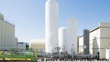 Schweiz CERN Kohlenstoff-Tank
