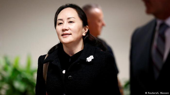 منگ وانژو، دختر موسس شرکت هوآوی و مدیر مالی این شرکت