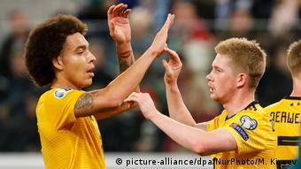 Belgien Fußball Nationalmannschaft   Axel Witsel & Kevin De Bruyne