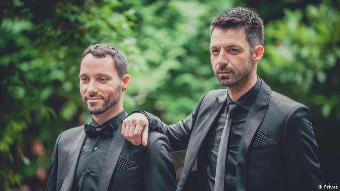 Ivo Šegota und Mladen Kožić, aus Zagreb/Kroatien