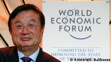 Ren Zhengfei, Founder and Chief Executive Officer of Huawei Technologies attends a session at the 50th World Economic Forum (WEF) annual meeting in Davos, Switzerland, January 21, 2020. REUTERS/Denis Balibouse
