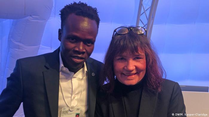 Joseph Okello & Manuela Kasper-Claridge
