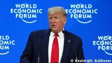 Schweiz Weltwirtschaftsforum 2020 in Davos
