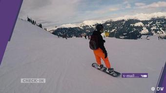 Check-in vom 25.01.2020   Österreich, Alpen