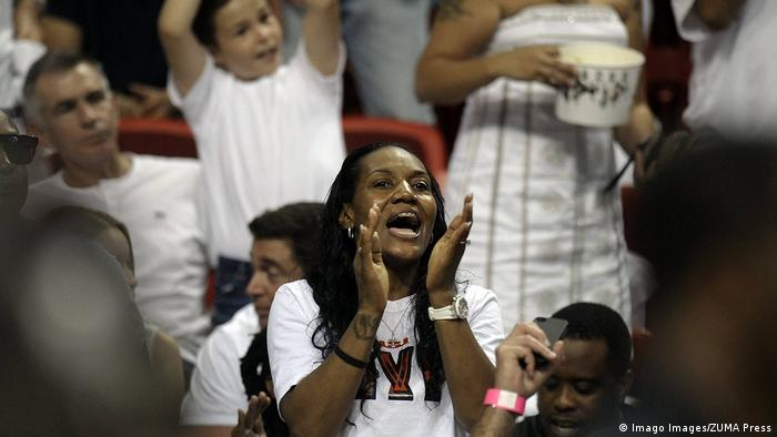 USA Basketball 2013 | Gloria James, Mutter von LeBron James (Imago Images/ZUMA Press)