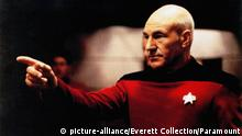 Patrick Stewart as captain Picard (picture-alliance/Everett Collection/Paramount)