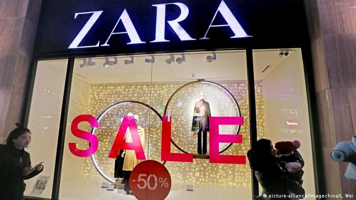 China Peking 2018 | Filiale der Mode-Kette Zara