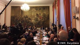 Встреча президента с членами рабочей группы по внесению изменений в Конституцию РФ