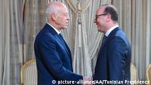 Tunesien Tunis | Kais Saied und Elyes Fakhfakh