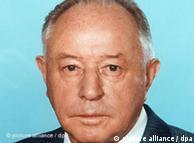 اریش میلکه، رییس اشتازی در سال ۱۹۸۷. وی در سال ۲۰۰۰ فوت کرد