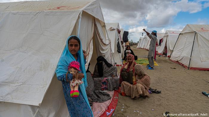 Iran Sistan Beluchistan Flut Überflutung (picture-alliance/dpa/R. Adeli)
